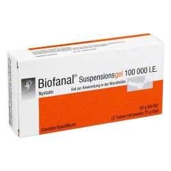 Biofanal® Suspensionsgel 100 000 I.E., Gel zur Anwendung in der Mundhöhle 2x 25g