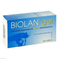 Biolan® gel 60x0,45ml Augentr.