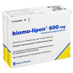 biomo-lipon® 600mg Inf.-Lsg.konz. 10 Amp.