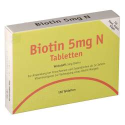 BIOTIN 5mg N Tabletten 150 St.