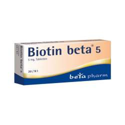 Biotin beta® 5 20 Tbl.