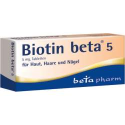 Biotin beta® 5 60 Tbl.