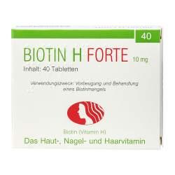 Biotin H forte 40 Tbl.