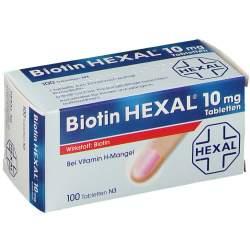 Biotin HEXAL® 10mg 100 Tbl.
