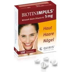 Biotin IMPULS® 5mg 100 Tbl.