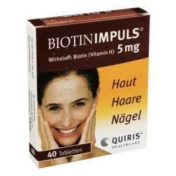 Biotin IMPULS® 5mg 40 Tbl.