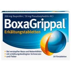 BoxaGrippal® Erkältungstabletten 200 mg/30 mg 20 Filmtbl.