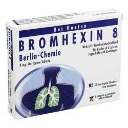 BROMHEXIN 8 Berlin-Chemie 50 überz. Tbl.