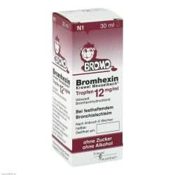 Bromhexin Krewel Meuselbach® 30ml Trpf. 12mg/ml