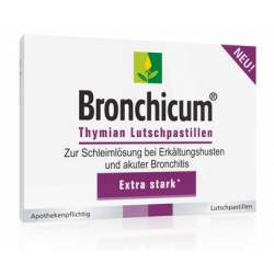 Bronchicum® Thymian 20 Lutschpastillen