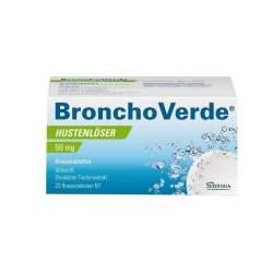 Bronchoverde Hustenlöser 50mg 20 Brausetbl.