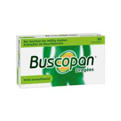 Buscopan® Dragées 10 mg 50 Tbl., überzogen