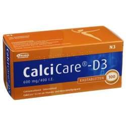 CalciCare®-D3 600mg/400 I.E. 100 Kautbl.