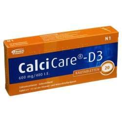 CalciCare®-D3 600mg/400 I.E. 20 Kautbl.