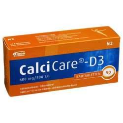 CalciCare®-D3 600mg/400 I.E. 50 Kautbl.
