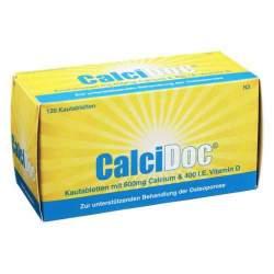 CalciDoc®, 600 mg/400 I.E. Kautabletten, 120 Kautbl.