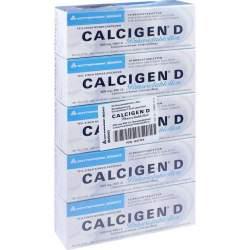 Calcigen® D 600mg/400I.E. 50 Brausetbl.