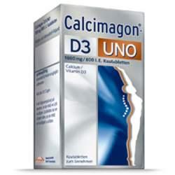 Calcimagon®-D3 UNO, 1.000 mg/800 I.E. 90 Kautbl.