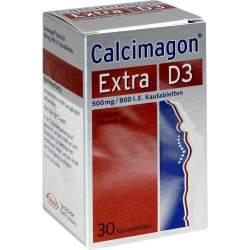Calcimagon® Extra D3, 500 mg/800 I.E., 30 Kautbl.