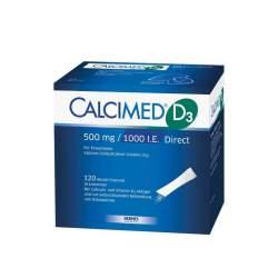 Calcimed D3 500 mg/1000 I.E. Direct Granulat 120 Btl.