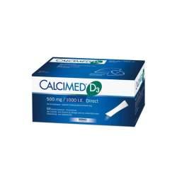 Calcimed D3 500 mg/1000 I.E. Direct Granulat 60 Btl.