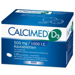Calcimed D3 500mg/1000 I.E. 120 Kautbl.