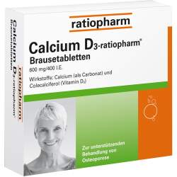 Calcium D3-ratiopharm® 100 Brausetbl.