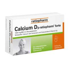 Calcium D3-ratiopharm® 20 Brausetbl.