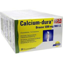Calcium-dura® Vit D3 1200mg/800 I.E. 120 Br.tbl