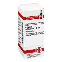 Calcium sulfuricum C30 DHU Glob. 10g