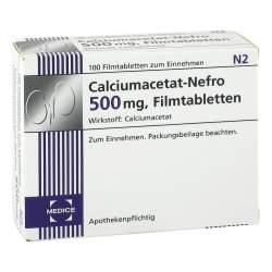 Calciumacetat-Nefro® 500 mg, 100 Filmtabletten