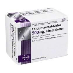 Calciumacetat-Nefro® 500 mg, 200 Filmtabletten