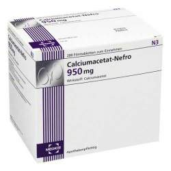 Calciumacetat-Nefro 950mg 200 Filmtbl.
