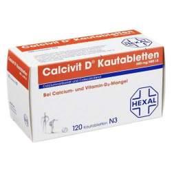 Calcivit D® 600mg/400 I.E. 120 Kautbl.