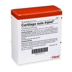 Cartilago suis-Injeel 10 Amp. Inj.-Lsg.