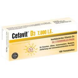 Cefavit D3 7.000 I.E. 100 Filmtbl.