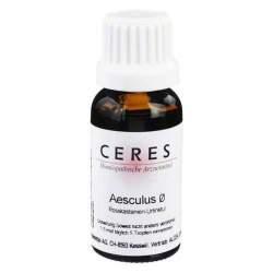 Ceres Aesculus Urtinktur 20 ml