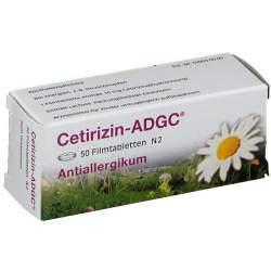 Cetirizin ADGC 50 Filmtbl.