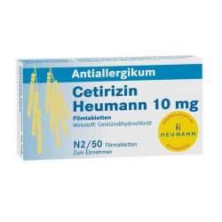 Cetirizin Heumann 10mg 50 Filmtbl.