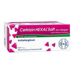 Cetirizin HEXAL® Saft b. Allergien 75ml