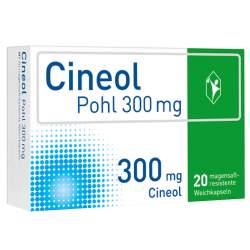 Cineol Pohl 300 mg, 20 magensaftresistente Weichkapseln