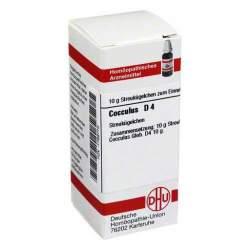 Cocculus D4 DHU Glob. 10 g