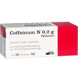 Coffeinum N 0,2 g, 50 Tabletten