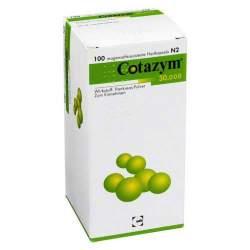 Cotazym® 30.000, 100 Hartkaps., magensaftresist.