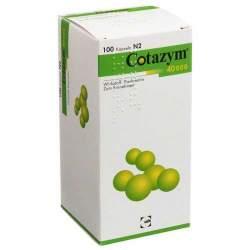 Cotazym® 40.000, 100 Hartkaps., magensaftresist.