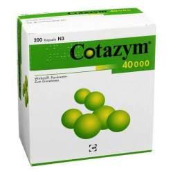 Cotazym® 40.000, 200 Hartkaps., magensaftresist.