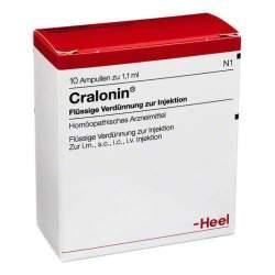 Cralonin® Flüssige Verdünnung zur Injektion 10 Amp. 1,1ml