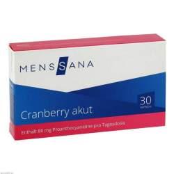 Cranberry akut MensSana® 30 Kapseln