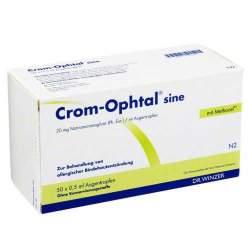Crom-Ophtal® sine, 20 mg/ml Augentropfen 50 ED 0,5ml
