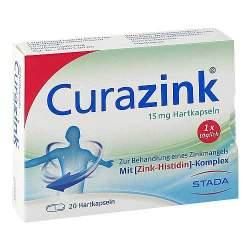 Curazink® 15mg 20 Hartkaps.